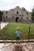 Luke at the Alamo