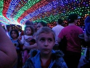 Luke at Trail of Lights